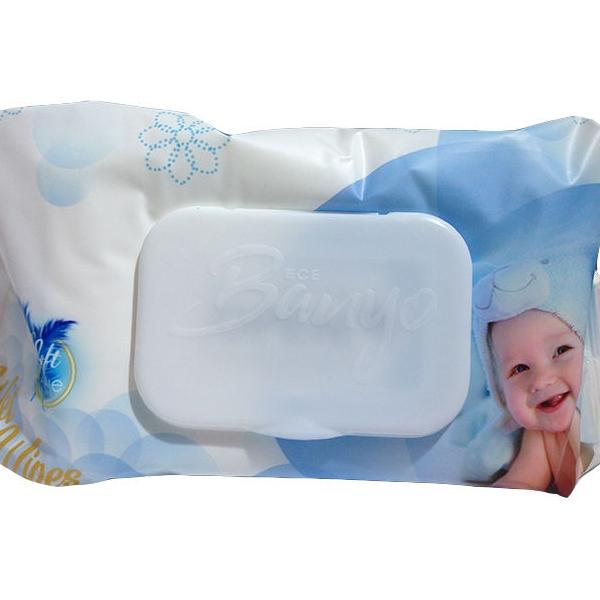دستمال مرطوب کودک بانیو مدل 002 بسته 120 عددی