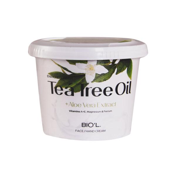 کرم مرطوب کننده بیول مدل TEA TREE OIL حجم 250 میلی لیتر