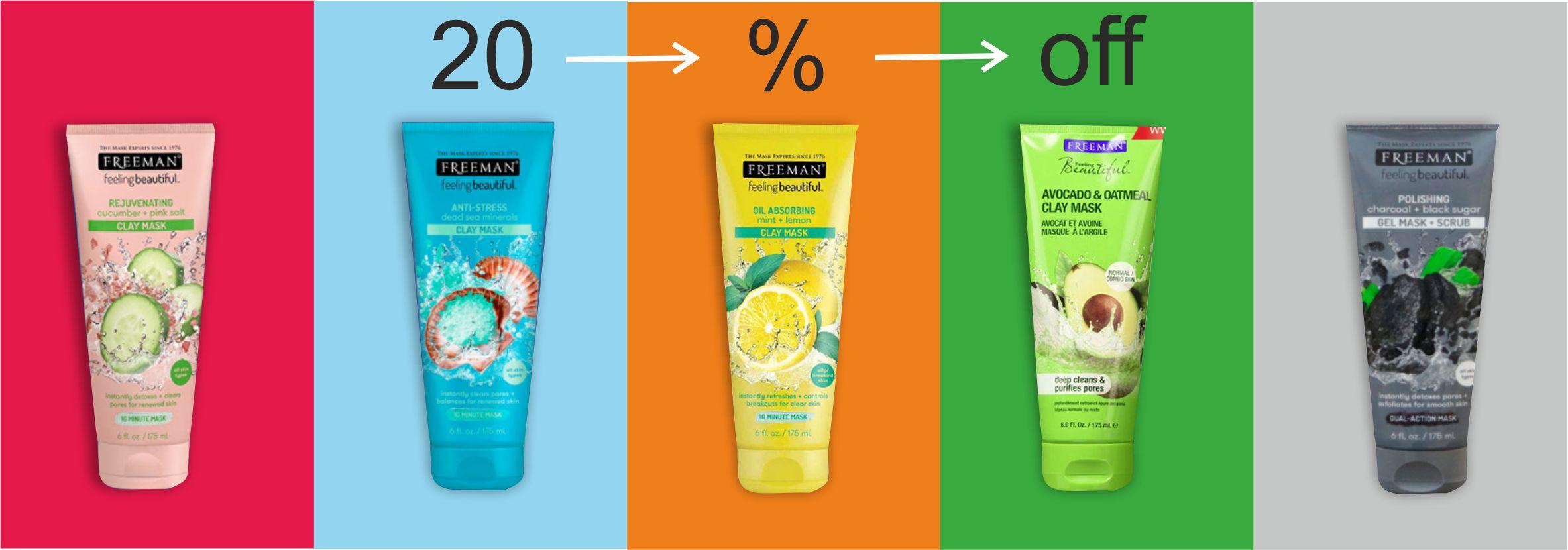 خرید محصولات فریمن | ماسک صورت فریمن با قیمت استثنایی | بیشتر از 25%تخفیف